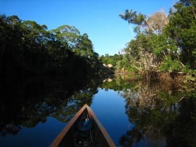 Canoe amazone