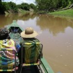 Canoe Beni river tour Amazon Rainforest Bolivia