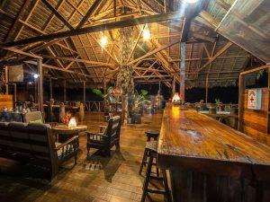 Dining room Explorers Inn Eco Lodge Peru