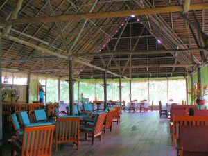 Dining room Sinchicuy Amazon Lodge Peru