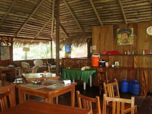 Restaurant Siona Amazon Lodge