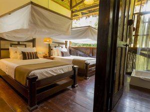 Room in Tambopata Research Center Peru