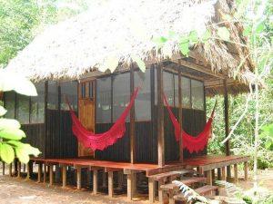 Cabin Madidi Jungle eco lodge Amazon Bolivia